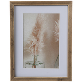 Pampas Grass In Vase Framed Wall Decor