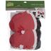 Santa Candy Cane Holder Foam Craft Kit