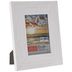 White Distressed Wood Look Frame - 3 1/2