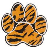 Tiger Paw Print Paper Cutouts