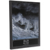 Black Rough Edge Wood Wall Frame - 18