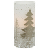 Glitter Christmas Trees LED Candle