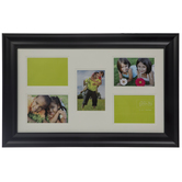Black Collage Wood Wall Frame