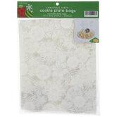 Snowflake Cookie Plate Bags