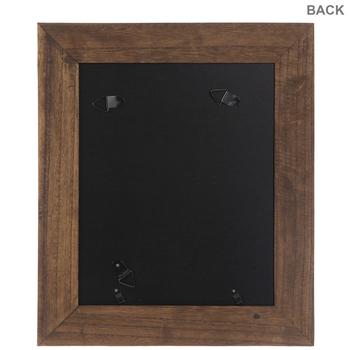 "Brown & Black Wood Wall Frame - 8"" x 10"""