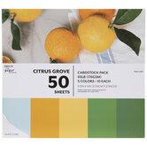 "Citrus Grove Cardstock Paper Pack - 8 1/2"" x 11"""
