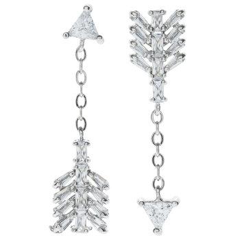 Asymmetrical Arrow Earrings