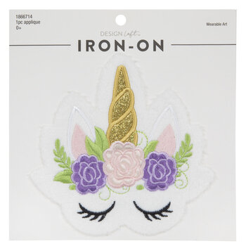 Unicorn Iron-On Applique