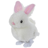 White Wind-Up Bunny