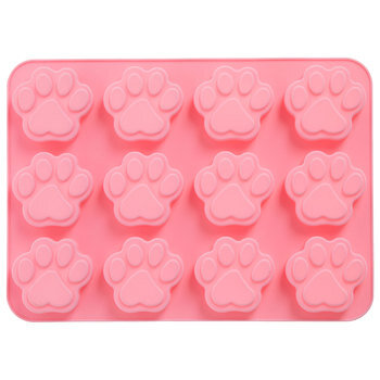 Paw Print Silicone Mold