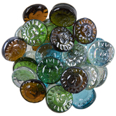 Sun Face Glass Mosaic Gems