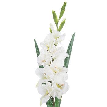 White True Touch Gladiola Stem
