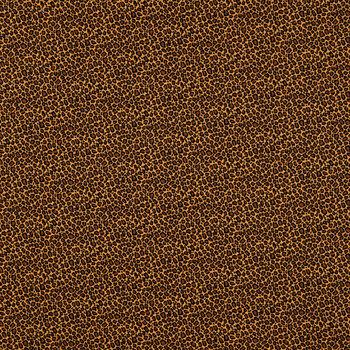 Mini Leopard Print Cotton Calico Fabric