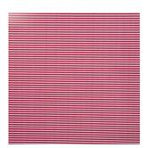 Red & White Ticking Striped Gift Wrap