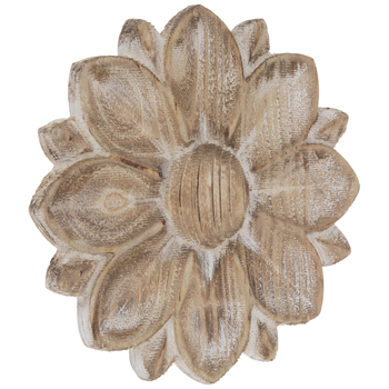 Rustic Flower Wood Wall Decor