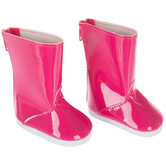 Pink Doll Rainboots