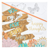 Happy Thoughts Coloring Book