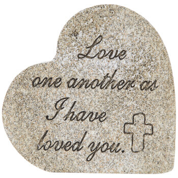 Love One Another Heart Decor