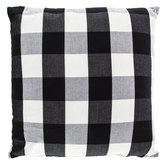 Black & White Buffalo Check Pillow