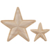 Star Wood Appliques