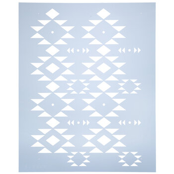 Tribal Geometric Stencil