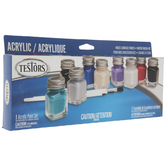 Auto Detail Acrylic Paint - 9 Piece Set
