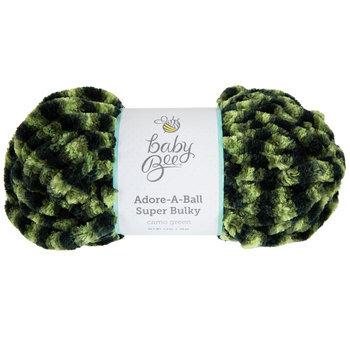 Camo Green Baby Bee Adore-A-Ball Super Bulky Yarn