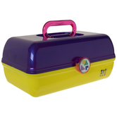 Purple & Yellow Caboodles On-The-Go Case