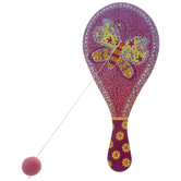 Butterfly & Flowers Paddle Ball