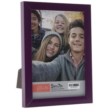 "Purple Flat Frame - 5"" x 7"""