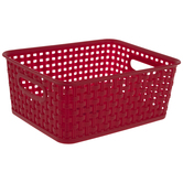 Red Woven Basket - Small