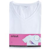 White Cricut Women's V-Neck T-Shirt