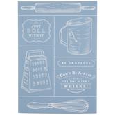 Vintage Kitchen Adhesive Silkscreen Stencil