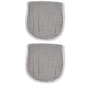 Gray Burp Cloth