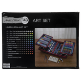 Mixed Media Art Set - 143 Pieces