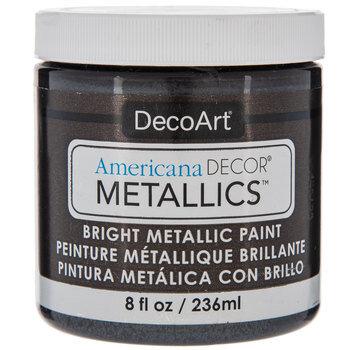 Obsidian Americana Decor Metallic Paint