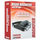 Visor Magnifier With LED Light