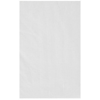 White Lined Round Table Cover Hobby, Round Paper Table Covers White