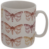Red & Yellow Butterfly Mug