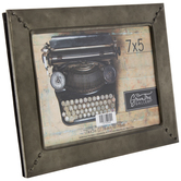 "Galvanized Metal Frame - 7"" x 5"""