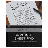 Writing Sheet Paper Pad