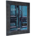 Blue Wash Wood Wall Frame - 11