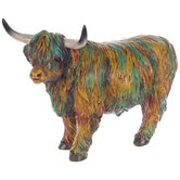 Multi-Color Highland Cow