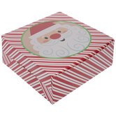 Striped Santa Pie Box