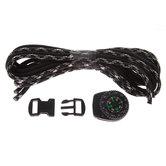 Army Camo & Black Compass Bracelet Kit