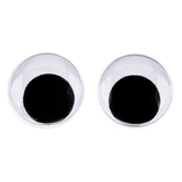 Paste-On Wiggle Eyes - 18mm