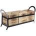 Wood Silverware Caddy