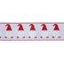 Santa Gnomes Wired Edge Ribbon - 2 1/2