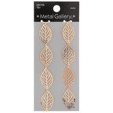 Filigree Leaf Stacked Pendants