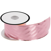 Rose Gold Faux Leather Ribbon - 2""